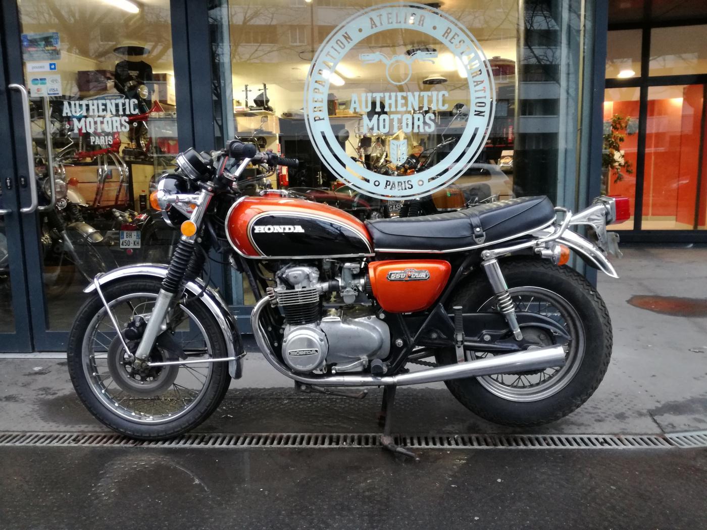 HONDA CB 550 FOUR 1974