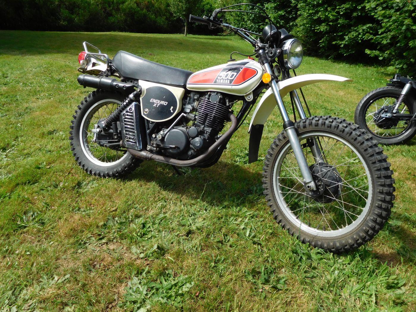 YAMAHA XT 500 1976