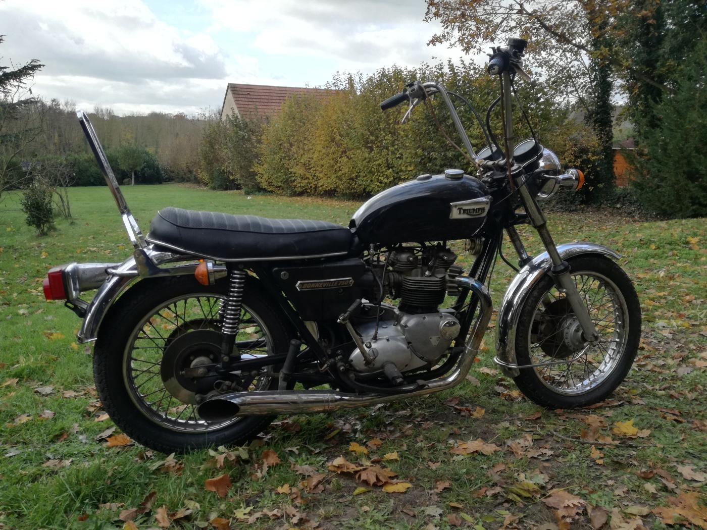TRIUMPH T140 1975