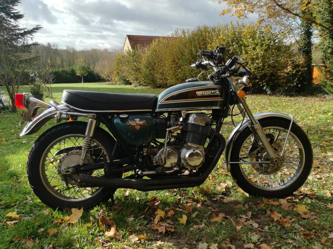 HONDA CB 750 FOUR K4 1974