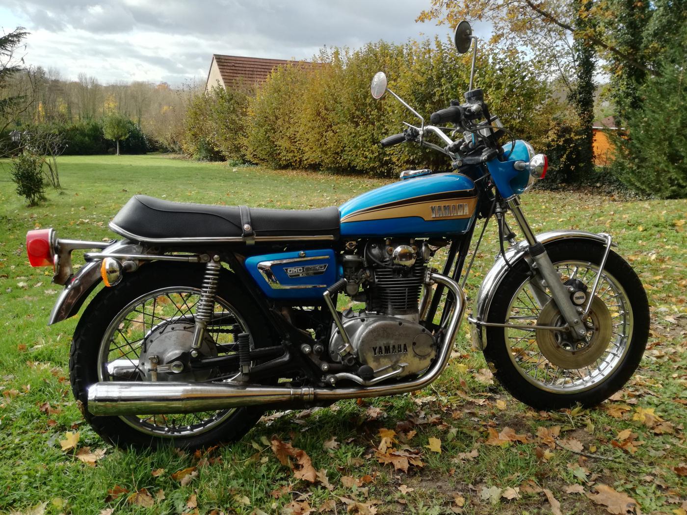YAMAHA TX 650 1973