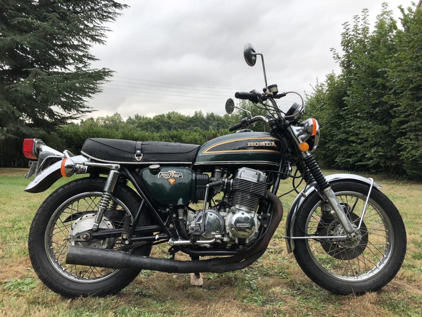 HONDA CB 750 FOUR K5 1975