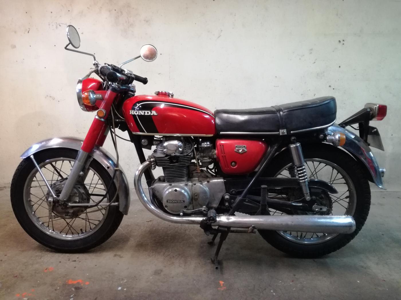 HONDA CB 350 1971